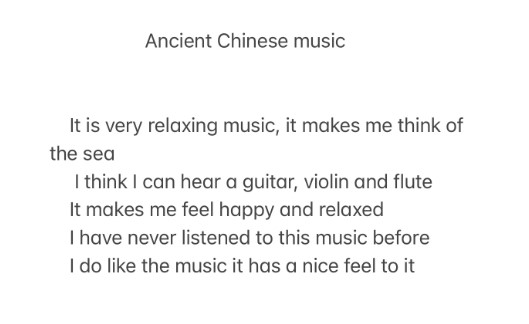 Chinese-music-thoughts